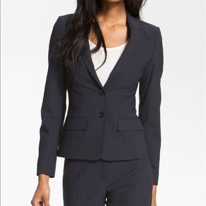 Hugo Boss Jaelle Blazer Black Wool Suit Jacket